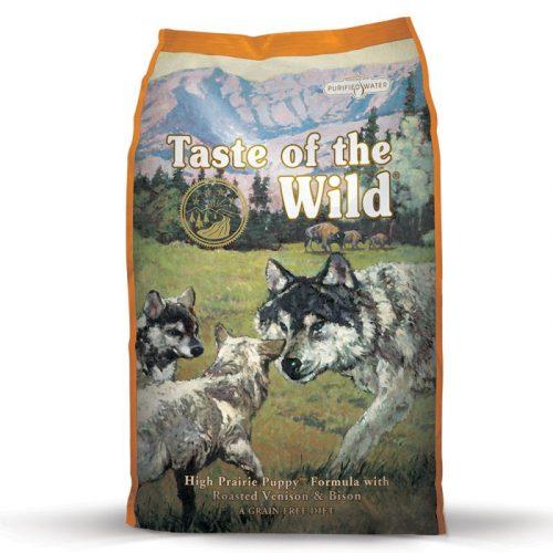 Taste of the Wild High Prairie Puppy Formula 62674 PLA rgb Taste of the Wild High Prairie Puppy 2 27 kg 6 6 e1525170326718