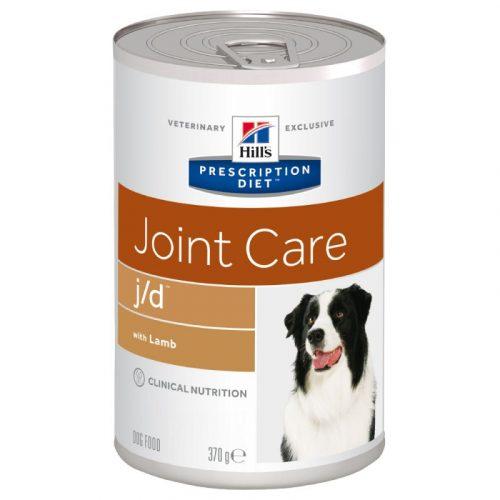 HILL'S Prescription Diet j/d Joint Care Lamb 70996 pla prescriptiondiet canine jd can 370g 2 e1527674397131