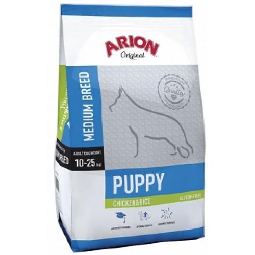 ARION Original Puppy Medium Breed Chicken & Rice Arion Original Puppy Medium Breed ChickenRice 12kg 11