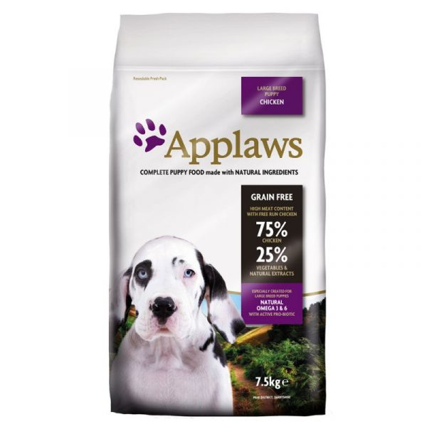 APPLAWS Puppy Large Breed Chicken applaws puppy huhn gro e rassen 5 e1528482045333